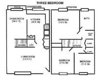 3 Beds - Cambridge Court Townh