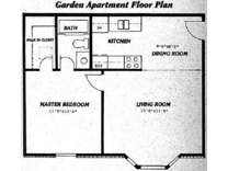 1 Bed - The Meadows