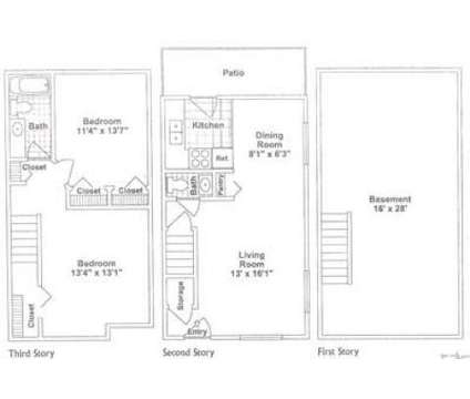 2 Beds - Chelsea Townhomes at 2005 Noe Bixby Rd in Columbus OH is a Apartment