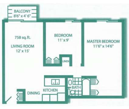 2 Beds - Garden View at 1417-10th St Nw in New Brighton MN is a Apartment