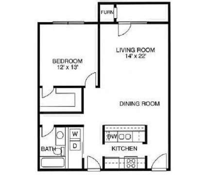 1 Bed - Parkside of Eagan at 3500 Lexington Ave South #2 in Eagan MN is a Apartment