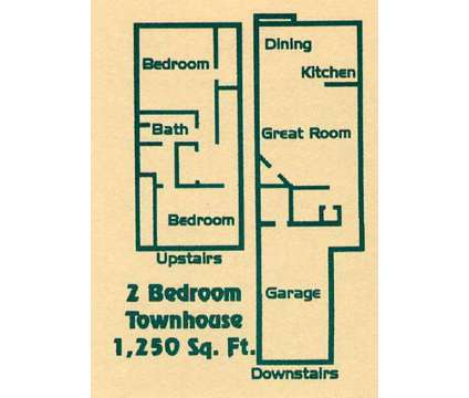 2 Beds - Blackbob Court Townhomes at 12500 S Constance in Olathe KS is a Apartment
