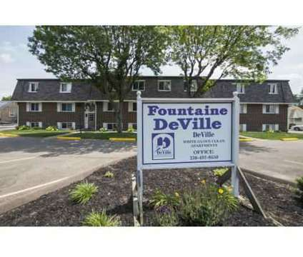 Studio - Fountaine DeVille Apartments at 4200 Middlebranch Avenue Ne in Canton OH is a Apartment