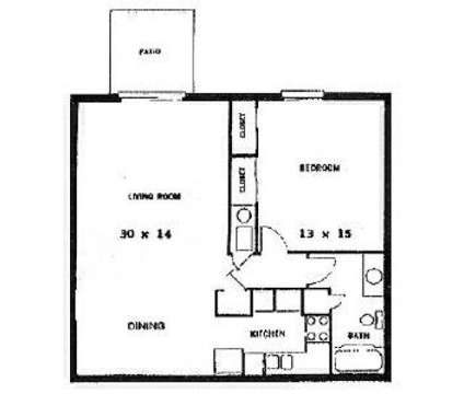 1 Bed - Stonehedge at 1563 Stonehedge West Drive in Greenwood IN is a Apartment