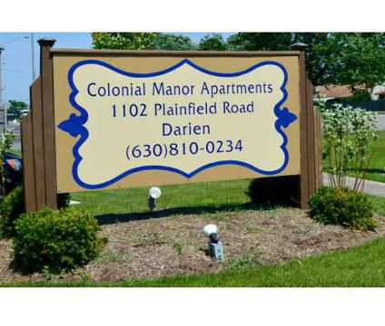 1 Bed - Colonial Manor Apartments at 1102 Plainfield Rd in Darien IL is a Apartment