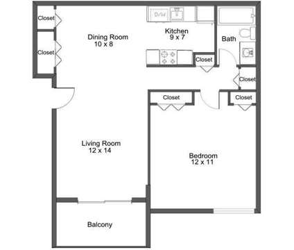 1 Bed - Bloomfields Fox Pointe at 900 Martin Luther King Boulevard South in Pontiac MI is a Apartment