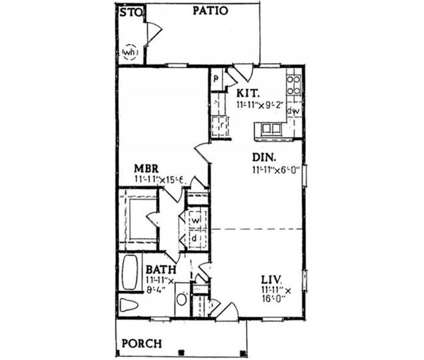 1 Bed - Candlewood Apartments at 401 Brook St in Clayton NC is a Apartment