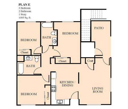 3 Beds - Lion Creek Crossings at 6951 Lion Way in Oakland CA is a Apartment