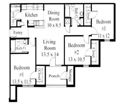 3 Beds - The Huntley at 100 Huntley Parkway in Pelham AL is a Apartment