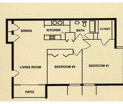 2 Beds - University Park Apartments at 2207 James Pirtle Ct in Louisville KY is a Apartment