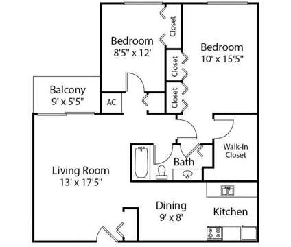 2 Beds - The Trilogy Apartments at 10910 Independence Ln in Belleville MI is a Apartment