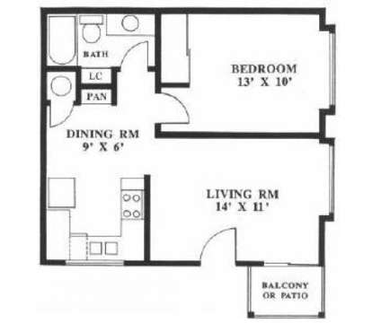 1 Bed - Broadway Center at 451 West Broadway in Eugene OR is a Apartment