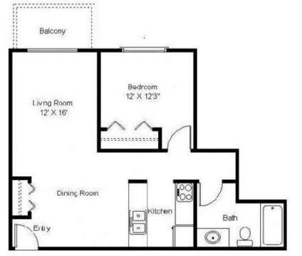 1 Bed - Woodland Park Apts at 2614 Cutters Grove Avenue (clubhouse in Anoka MN is a Apartment