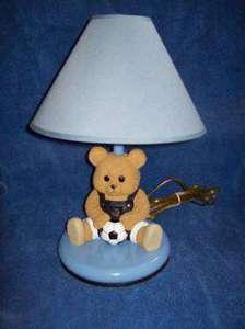Soccer Teddy Bedroom Light