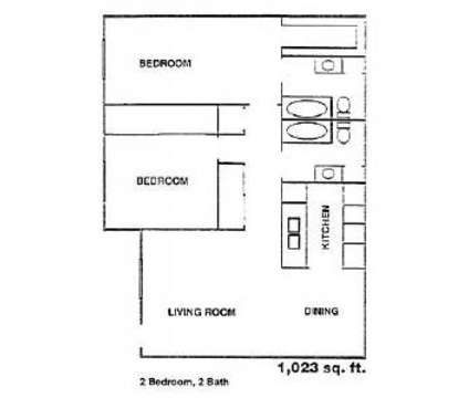 2 Beds - Estates at Spring Branch at 9001 Kempwood in Houston TX is a Apartment