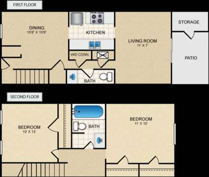 2 Beds - KRC Ridge at 4565 Covington Hwy in Decatur GA is a Apartment