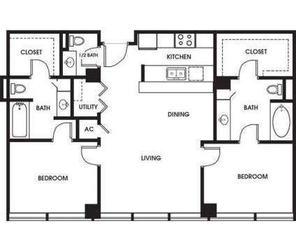 2 Beds - 925 Common Luxury Apartments at 925 Common St in New Orleans LA is a Apartment