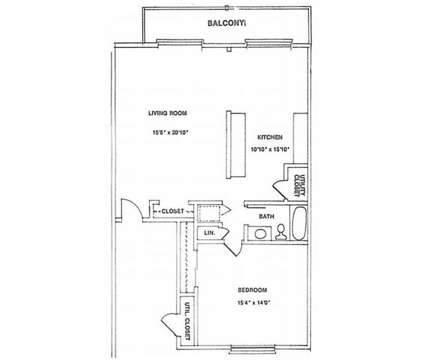 1 Bed - Rivendell Properties at 101 Mindy Ln in Piscataway NJ is a Apartment