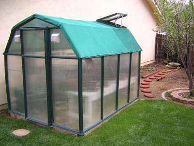 Green House used for Orchid Cu