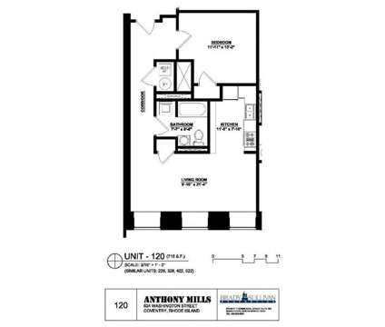1 Bed - Lofts at Anthony Mill at 624 Washington St in Coventry RI is a Apartment