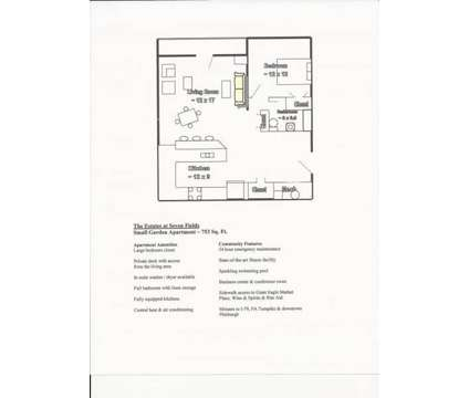1 Bed - The Estates at Seven Fields at 260 Jameson Way in Seven Fields PA is a Apartment