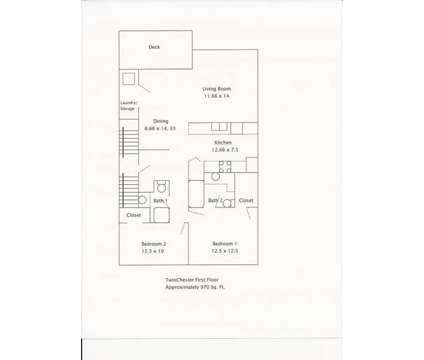 2 Beds - The Estates at Seven Fields at 260 Jameson Way in Seven Fields PA is a Apartment