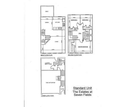 3 Beds - The Estates at Seven Fields at 260 Jameson Way in Seven Fields PA is a Apartment