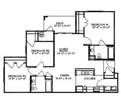 3 Beds - Rivermere Apartments at 3404 Dunn Commons Parkway in Charlotte NC is a Apartment