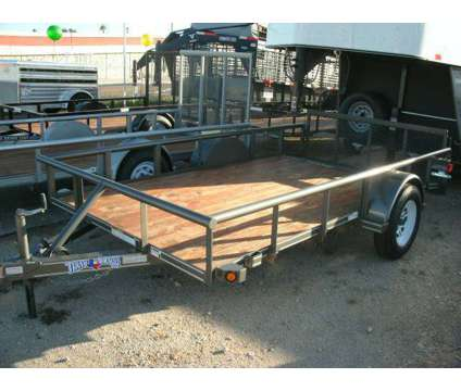 New 6x12 Utility Trailer (Rio Grande Valley) is a Motorcycle Trailer in La Feria TX