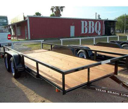 New 16' Utility Trailer - Tandem Axle is a Heavy Equipment Vehicle in Mcallen TX