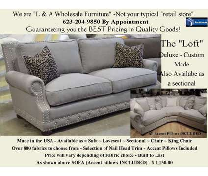 Over-sized BERMUDA Deep seated Sofa Collection in Feather/Down is a Other Furnitures for Sale in Glendale AZ