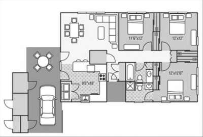 3 Beds - NAS Meridian Homes