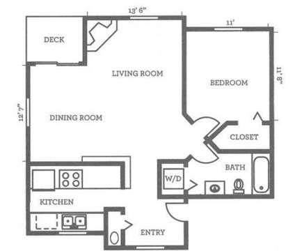 1 Bed - Woodcreek at 14611 Admiralty Way in Lynnwood WA is a Apartment