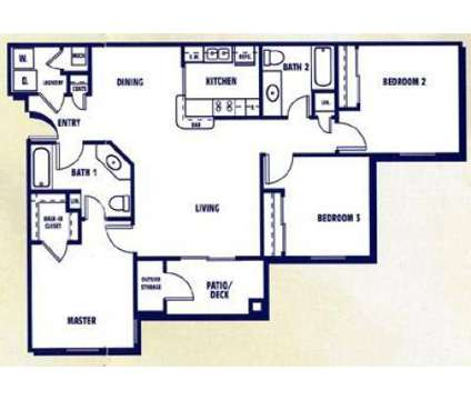 3 Beds - Legacy at Acworth Apartments at 4801 Baker Grove Rd in Acworth GA is a Apartment