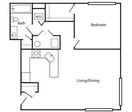 1 Bed - The Schmidt's Commons at 1001 N 2nd St Suite 21 in Philadelphia PA is a Apartment