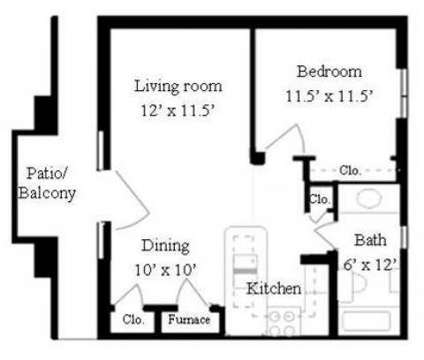1 Bed - E-State Management at 2130 Silicon Ave in Lawrence KS is a Apartment