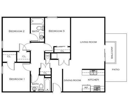 3 Beds - Park West at 2407 West Alamos Avenue in Fresno CA is a Apartment