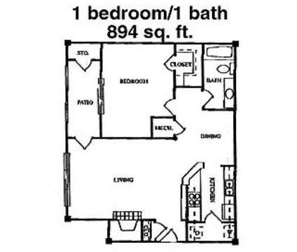 1 Bed - Barrington on the Green at 5775 Summer Place Parkway in Hoover AL is a Apartment