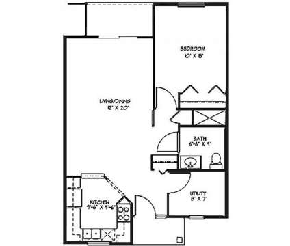 1 Bed - Oak Tree Village at 4775 Village Dr in Grand Ledge MI is a Apartment