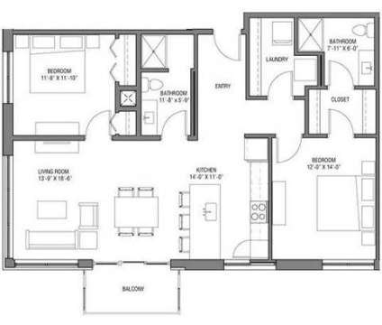 2 Beds - Nine Line at the Yards at 633 W Wilson St in Madison WI is a Apartment