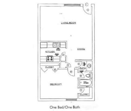 1 Bed - Portland Parke at 3175 North Portland Ave in Oklahoma City OK is a Apartment
