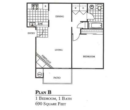 1 Bed - Woodside Creek Apartments at 6519 Sylvan Rd in Citrus Heights CA is a Apartment