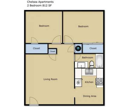 2 Beds - Chelsea Apartments at 2640 Wilhite Ct in Lexington KY is a Apartment