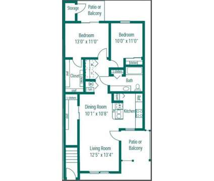 2 Beds - Cumberland Crossing at 10225 Stage Coach Trail in Fishers IN is a Apartment