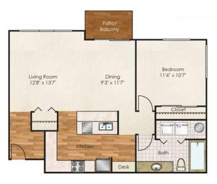 1 Bed - The Lodge at Maple Grove at 985 North Maple Grove in Boise ID is a Apartment