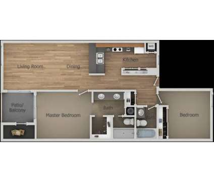 2 Beds - Aztec Springs at 164 North 74th St in Mesa AZ is a Apartment