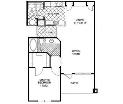 1 Bed - NorthBridge at Millenia Lake at 4902 Millenia Blvd in Orlando FL is a Apartment