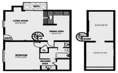 2 Beds - Forest Isle