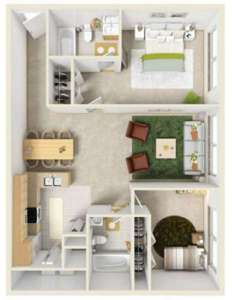 2 Beds - Taylor Pointe