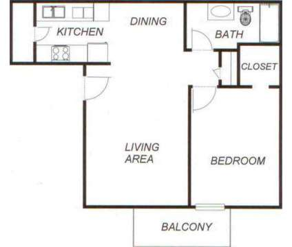 1 Bed - Oak Park At Nations Ford at 103 Dinaden Dr in Charlotte NC is a Apartment